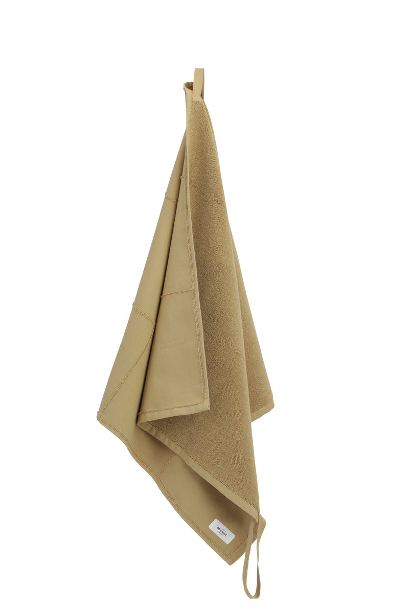 The Organic Company CALM Towel to Go TerryPlain 215 Khaki