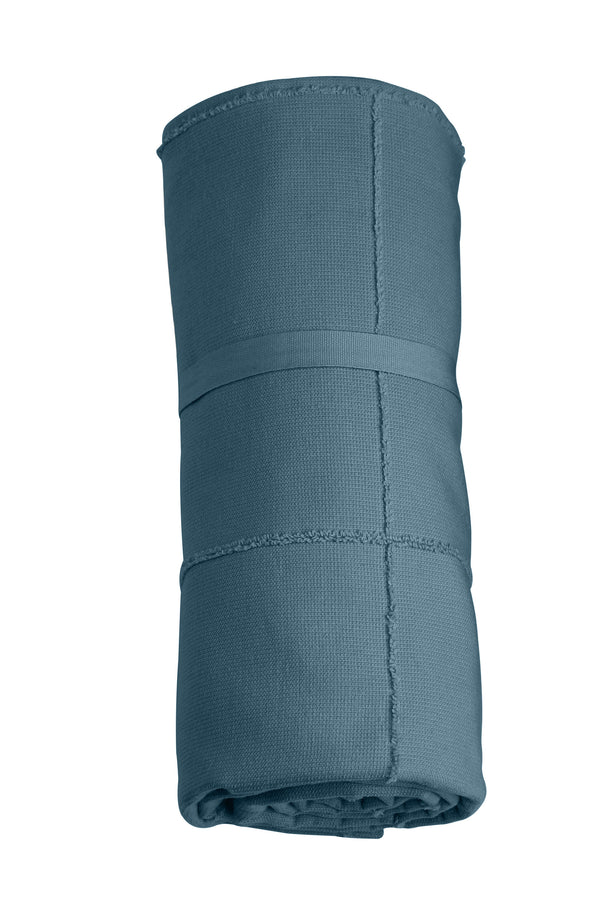 The Organic Company CALM Towel to Go TerryPlain 510 Grey blue