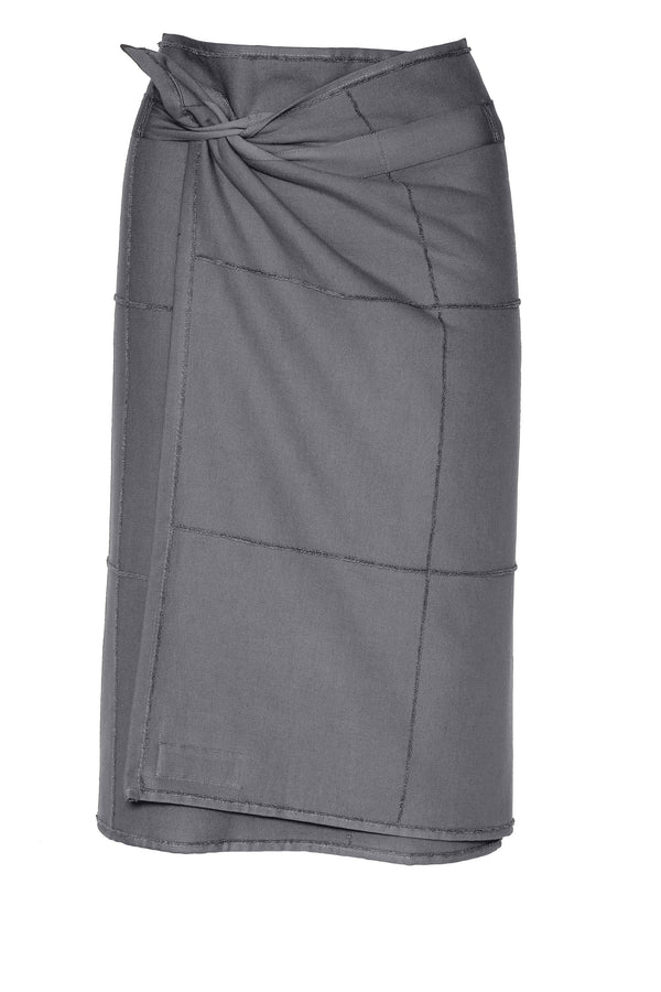 The Organic Company CALM Towel to Wrap TerryPlain 110 Dark grey