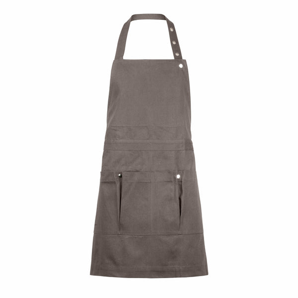 Brown apron for gardening