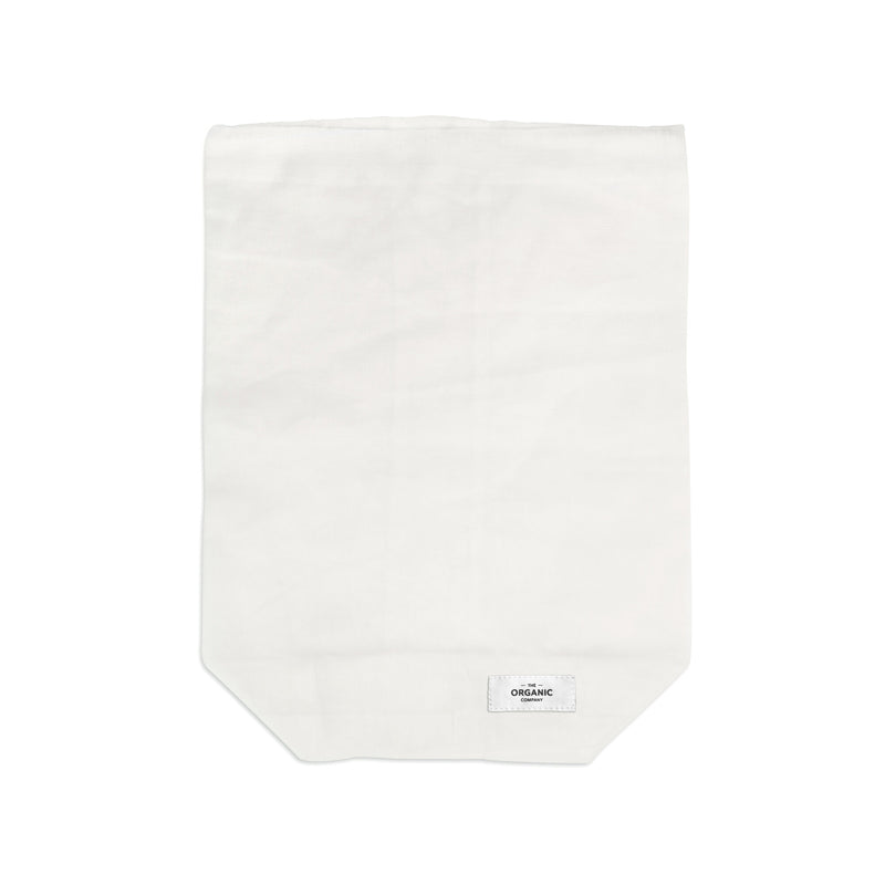 The Organic Company Food Bag - Large Gauze 200 Natural white
