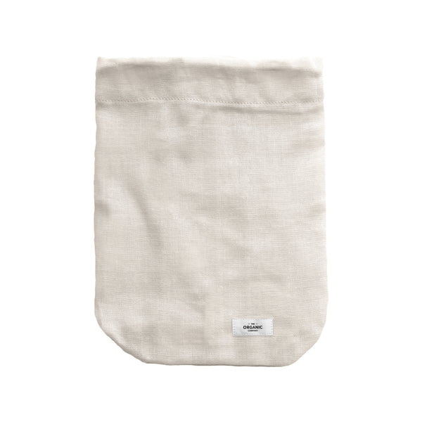 The Organic Company Food Bag - Large Gauze 202 Stone