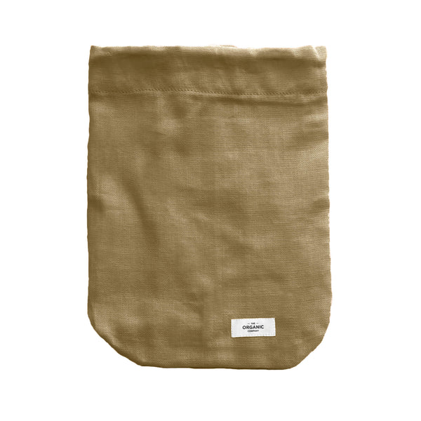 The Organic Company Food Bag - Large Gauze 215 Khaki