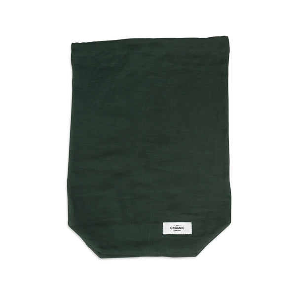 The Organic Company Food Bag - Large Gauze 400 Dark green