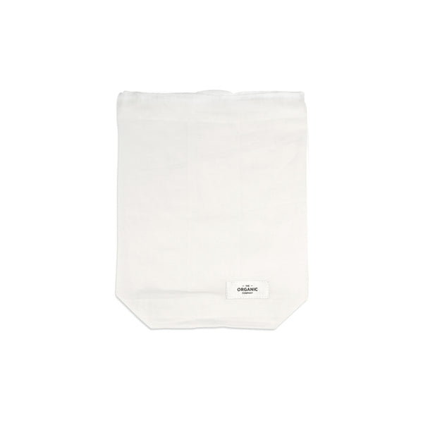 The Organic Company Food Bag - Medium Gauze 200 Natural white