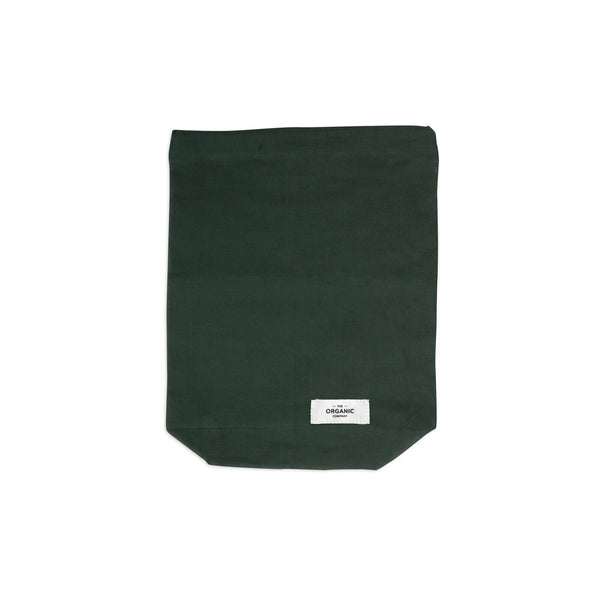The Organic Company Food Bag - Medium Gauze 400 Dark green