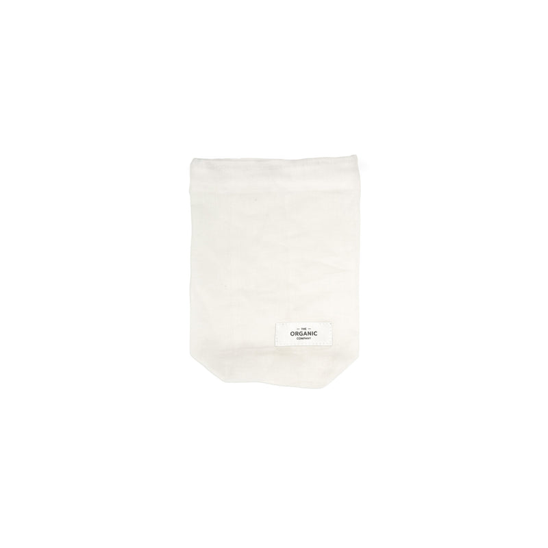 The Organic Company Food Bag - Small Gauze 200 Natural white