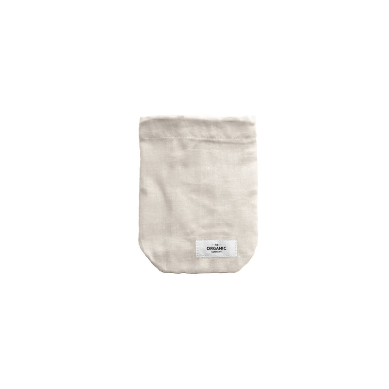 The Organic Company Food Bag - Small Gauze 202 Stone