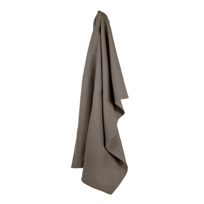 The Organic Company Kitchen Towel Herringbone 225 Clay