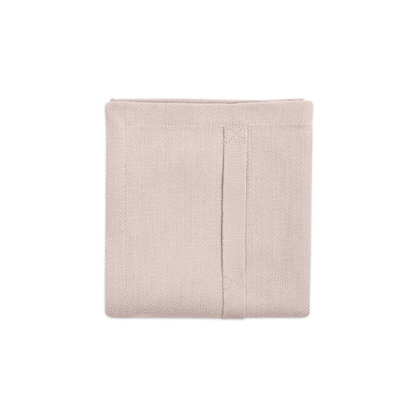 The Organic Company Kitchen Towel Herringbone 331 Pale rose
