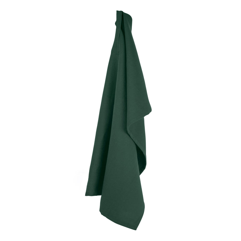 The Organic Company Kitchen Towel Herringbone 400 Dark green
