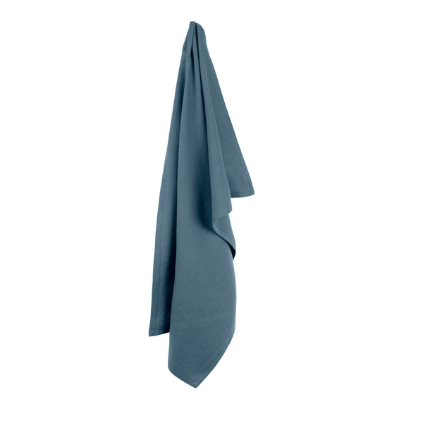 The Organic Company Kitchen Towel Herringbone 510 Grey blue