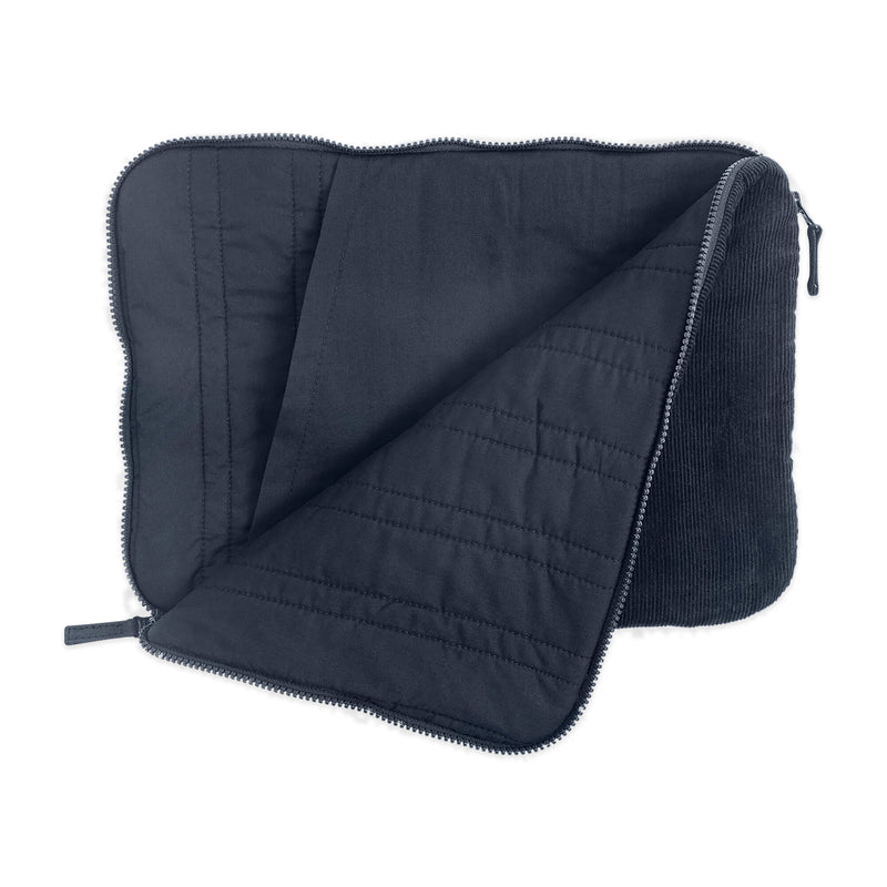 Laptop sleeve unzipped