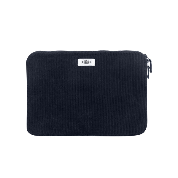 "The Organic Company Laptop Sleeve 13"" Corduroy 500 Dark blue"