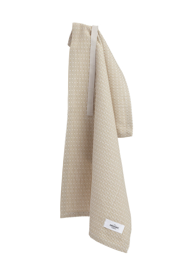 The Organic Company Little Towel II Piqué 214 Stone khaki