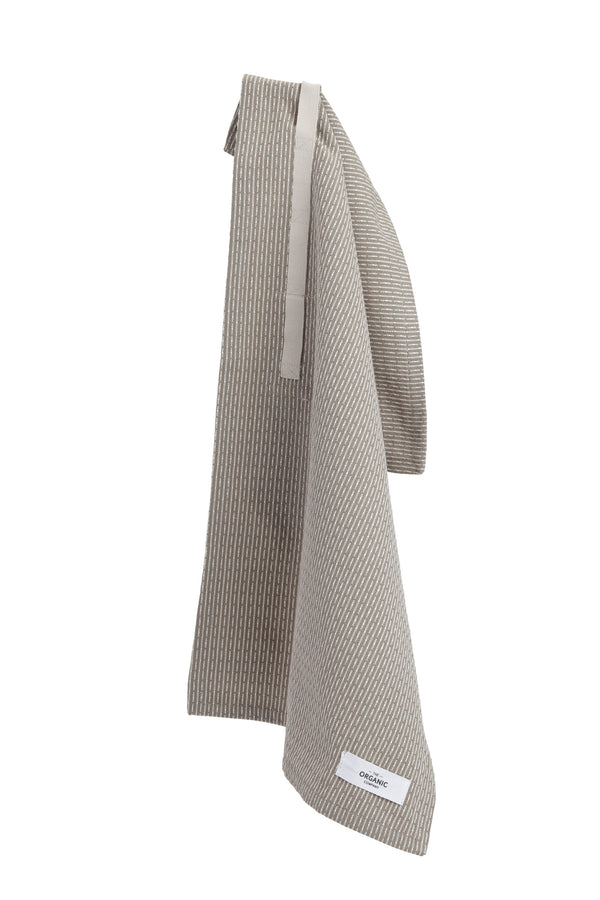 The Organic Company Little Towel II Piqué 226 Clay stone
