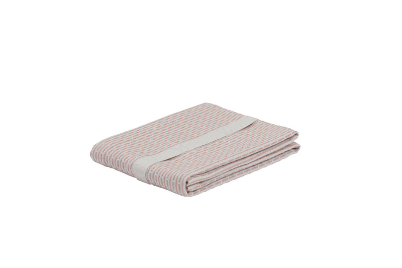 The Organic Company Little Towel II Piqué 330 Stone rose