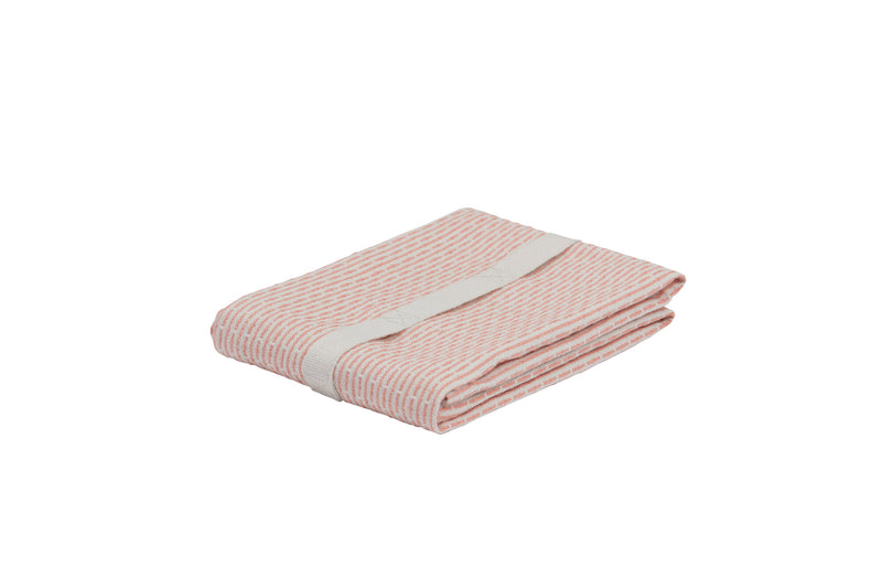 The Organic Company Little Towel II Piqué 380 Stone coral