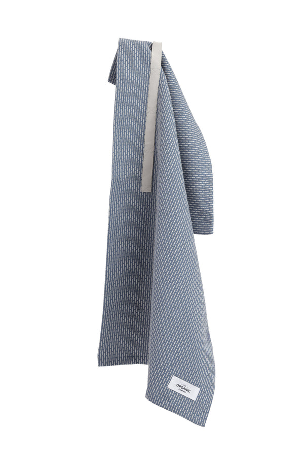 The Organic Company Little Towel II Piqué 511 Grey blue stone