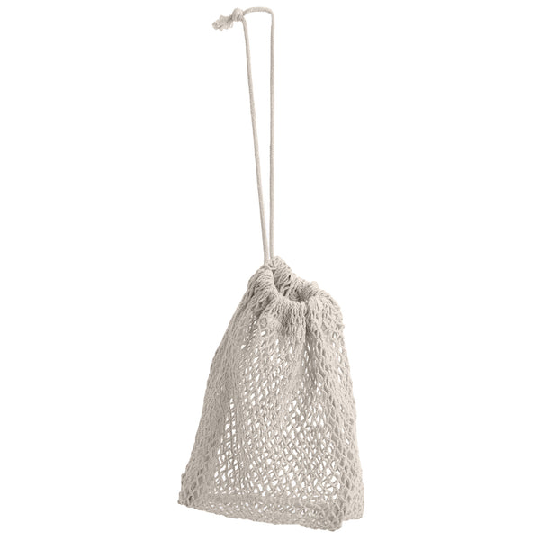 The Organic Company Net Bag Large Net Fabric (10's x 10's) 202 Stone