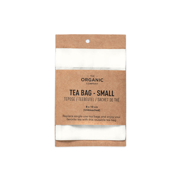 The Organic Company Tea Bag Small Plain Voile 201 Undyed