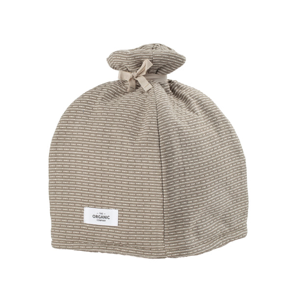 The Organic Company Tea Cosy Piqué 226 Clay stone