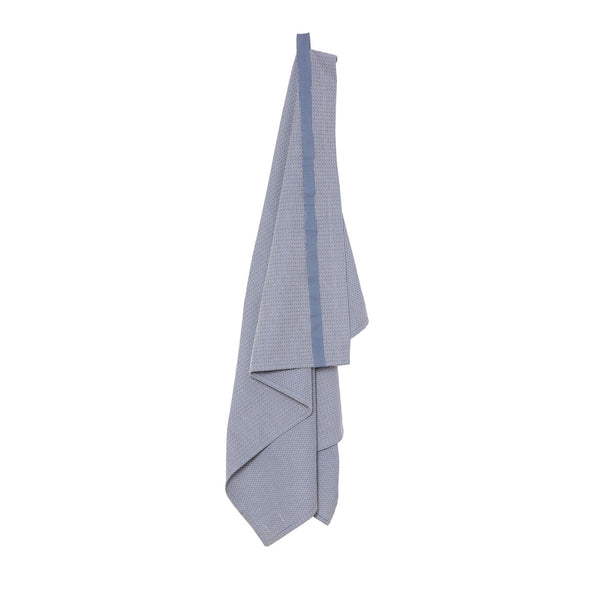 The Organic Company Wellness Towel Piqué 511 Grey blue stone