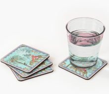 Load image into Gallery viewer, Mary Coasters (Set of 4) (Turquoise)