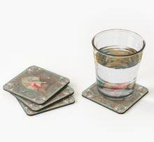 Load image into Gallery viewer, Myrtle Coasters (Set of 4) (Gold)
