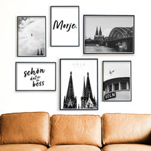 Load image into Gallery viewer, Morje Köln - 6er Poster Set