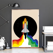 Lade das Bild in den Galerie-Viewer, Space Shuttle Poster