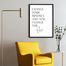 Load image into Gallery viewer, Change the World - Motivation Poster