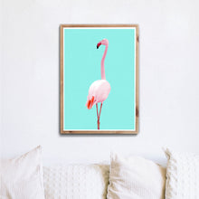 Lade das Bild in den Galerie-Viewer, Rosa Flamingo