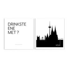 Load image into Gallery viewer, Köln Skyline & Drinkste Ene Met? - Poster Set