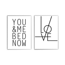 Lade das Bild in den Galerie-Viewer, You & Me - Love Poster Set