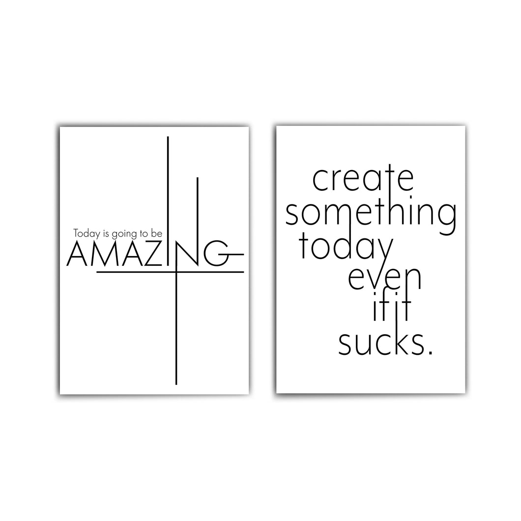 Today Amazing & Create Something - Bilder Set