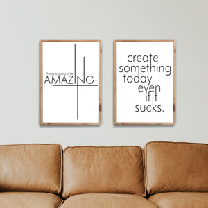 Today Amazing & Create Something
