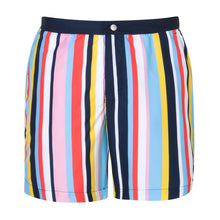 Load image into Gallery viewer, Stripes | Multicolour / Tailored / Swimwear Shorts