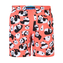 Load image into Gallery viewer, Pandas | Coral / Originals / Swimwear Shorts