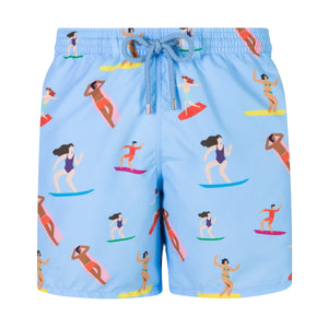 Surfers | Baby Blue / Originals / Swimwear Shorts