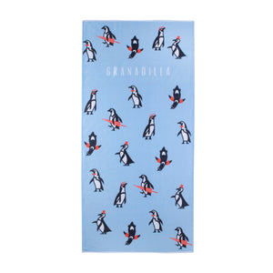 Penguin | Baby Blue / Beach Towel
