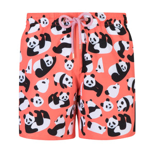 Pandas | Coral / Originals / Swimwear Shorts