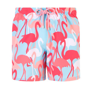 Flamingo All Over | Baby Blue