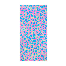 Load image into Gallery viewer, Leopard Print | Pink / Beach Towel