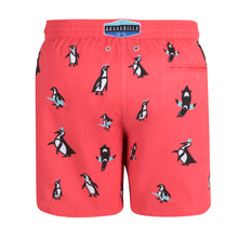 Load image into Gallery viewer, Penguin | Coral / Originals / Swimwear Shorts