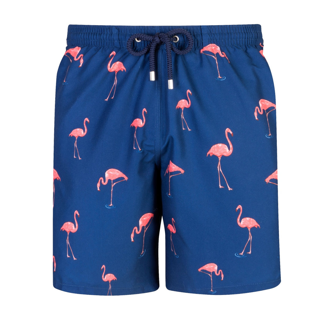 Flamingo | Navy / Long