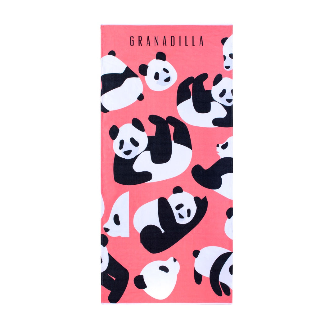 Pandas | Coral / Beach Towel