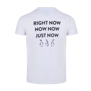 Now Penguins | White / T-Shirt