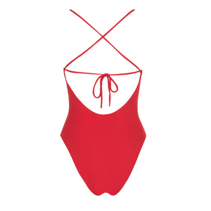 Strappy One Piece | Lipstick