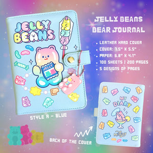 Jelly Bean Bear Journal